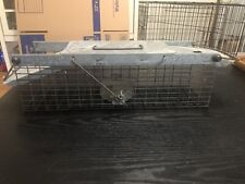 Havahart Small Squirrel Chipmunk Rat Live Animal Cage Trap 1025 Used Works Great