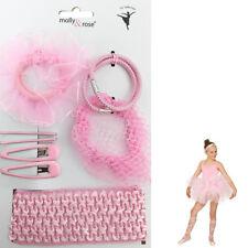 Ballet Hair Ballerina Pink Band Bun Net Sleepie Clip Bobble Girl Set Dance Snood