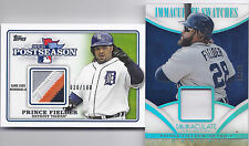2014 PRINCE FIELDER TOPPS POSTSEASON FOUR COLOR PATCH 30/100! FREE SHIP & BONUS!