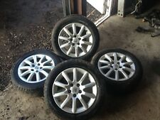 VAUXHALL ASTRA H 5 STUD, 16 INCH ALLOY WHEELS WITH TYRES