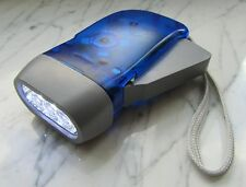 """Dynamo Taschenlampe 3 LED Taschenlampe Lampe """"Hohe Qualität"""" 02-076"""