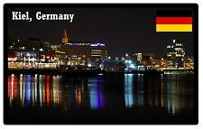 KIEL, GERMANY - SOUVENIR JUMBO FRIDGE MAGNET - BRAND NEW - GIFT