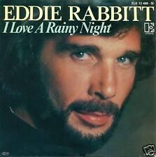 "EDDIE RABBITT - I LOVE A RAINY NIGHT 7"" SINGLE (S3520)"