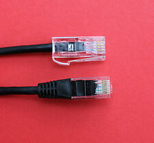 "RJ45 Cat5 Plug to BT431 BT Plug ""30CMS"" Cable in Black ""Special Price"" NEW"