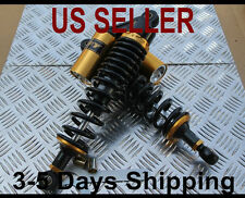 Rear shock Absorbers 340mm Yamaha Zuma 50 125cc - BLACK - FREE SHIPPING