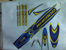 Sherco 02 style complete decal / sticker set