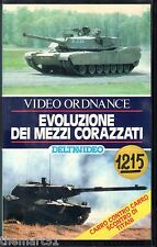 Evoluzione dei Mezzi Corazzati (1988) VHS  Delta Video Video Ornance