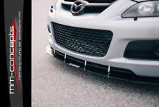 CUP Spoilerlippe tie bars für Mazda Speed 6 MK1 MPS Front Leiste Schwert Ansatz