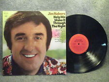 33 RPM LP Record Jim Nabors Help Me Make It Through The Night Columbia C 30810