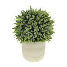 Artificial en maceta Bay Bola 25 cm plantas casa jardín realista interior al aire libre