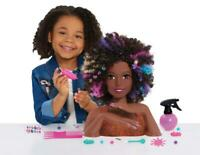 JP Barbie JPL63345 Sparkle Deluxe Barbie Styling Head-Afro Hair