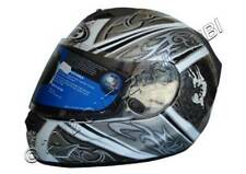 11110509 HELMET HJC FG15 DRACO MC5 FULL SIZE XL CM.62 GRAPHIC SILVER / WHITE