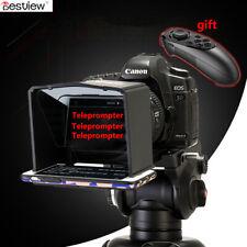 Bestview Smartphone Teleprompter for Canon Nikon Sony Camera Photo Studio DSLR