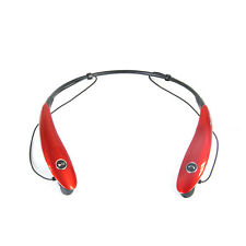Bluetooth® Wireless Headphones and Mic-red
