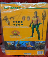 Mezco One:12 Collective DC Comics Aquaman Comic Action Figure 3 Heads Trident