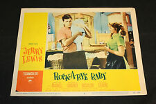 1958 Rock-A-Bye Baby Lobby Card #6 Jerry Lewis Marilyn Maxwell 58/293 (C-5)