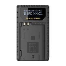 Nitecore UNK1 USB Dual Slot Battery Charger for Nikon EN-EL14/EN-EL14a/EN-EL15