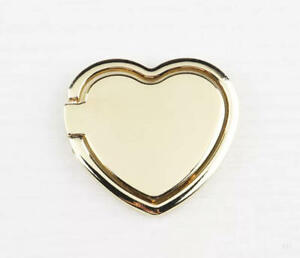 LiliDreamStore Cell Phone Tablet Heart Shape Finger Ring Stand Holder Grip-LOVE