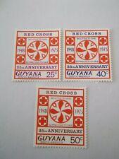 1973 Guyana 25th Anniversary of Guyana Red Cross m/m Mi.205/7 3of 4 , B6C1