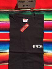 NWT SUPREME black FW15 E.T. ET tee t shirt M box logo rare NEW