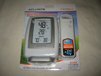 AcuRite Wireless Weather Thermometer with Humidity Display + Sensor NEW SEALED