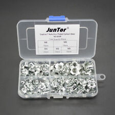 Practical 90pcs M3 M4 M5 M6 M8 Captive T Nuts Metric Assortment Kit NO.E006