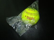 Worth Hot Seam Red Dot 6.25 Oz. Practice Pitching Softball