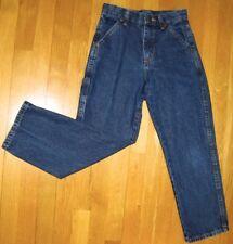 Wranglers - Dark Blue JEANS (REGULAR) - BOYS - Adjustable Waist - Age 10 years