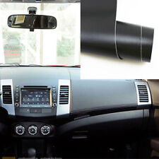 Waterproof Black 3D Leather Texture Car Air Vents Trim Film Vinyl Sheet Sticker