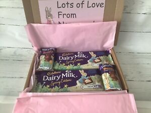 CADBURYS PETER RABBIT CHOCOLATE GIFT HAMPER BOX