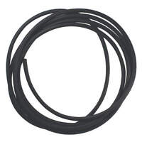 E. JAMES CSBUNA-1/4-10 Rubber Cord,Buna,1/4 In Dia,10 Ft.