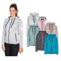 Trespass Womens Full Zip Fleece Hoodie Jacket Odelia XXS - XXXL