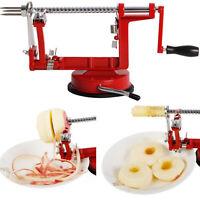 New Fruit Cutter Corer 3 in 1 Slicer Kitchen Tool Apple Slinky Machine Peeler
