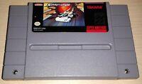 Cyber Spin Car Racing Super Nintendo SNES Vintage original retro game cartridge