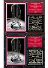 Boston Red Sox 2018 World Series Champions Photo Plaque