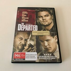 The Departed (Leonardo DiCaprio & Matt Damon) DVD (Region 4)