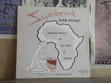 SUZANNA FOLK SONGS, SINGING SISTERS OF OUR LADY OF AFRICA - LP AALP 1347