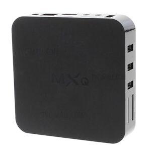 MXQ HDMI Smart TV Box Android Quad Core Media Player