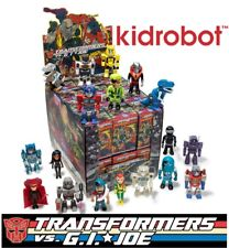 Kidrobot - Transformers Vs Gi Joe - Figurine Select - New