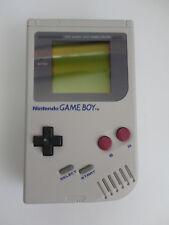 RESTORED NEW SCREEN Nintendo Game Boy Launch Edition Gray Handheld System dmg-01