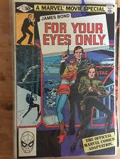 James Bond For Your Eyes Only #1 Bronze Age 1981 Marvel Comics