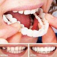 2pcs Comfort Fit Flex Kosmetische Zahnmedizin Prothese Falsche Zähne Fein