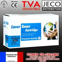 Toner compatible  OKI C510 C310 / DN / DNW  noir cyan magenta jaune 5000 pages