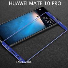 Film de protection intégrale en verre trempé bleu pour Huawei mate 10 PRO