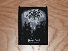 DARK THRONE - PANZERFAUST (NEW) SEW ON W-PATCH OFFICIAL BAND MERCHANDISE
