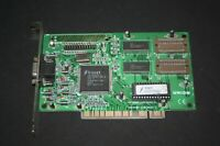 USED TRIDENT TGI 9440 1MB  PCI VGA VINTAGE GAMING VIDEO CARD WORKING H18