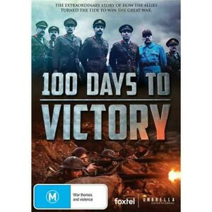 100 Days To Victory (DVD) NEW/SEALED  WAR