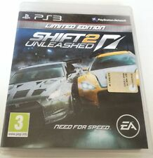 NEED FOR SPEED SHIFT 2 UNLEASHED LIMTED EDITION PS3 PLAYSTATION 3 GIOCO ITALIANO