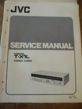 JVC T-X1L Stereo Tuner Service Manual