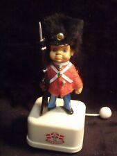 Vintage Denmark Guard Soldier Pull String Music Box